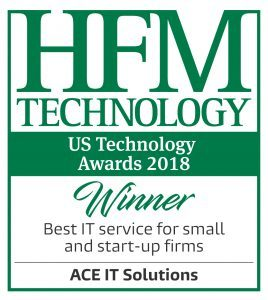About ACE IT Solutions HFM US Technology Awards 2018 Winner logos Best IT service for small and start up firms Artboard 1 268x300 1 268x300