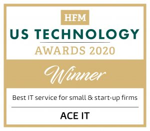 ACE IT Solutions Named Best IT Provider for Small and Start Up Firms by HFMWeek HFM US Technology Awards 2020 CustomWinnerLogos9 300x261