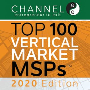 Channele2e Top 100 Vertical Msps 2020 Button